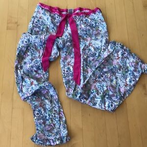 PINK Victoria's Secret S lounge PJ pants vintage